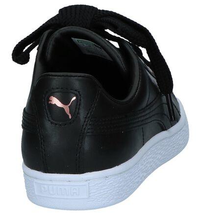 Puma Baskets basses en Noir en cuir (221667)