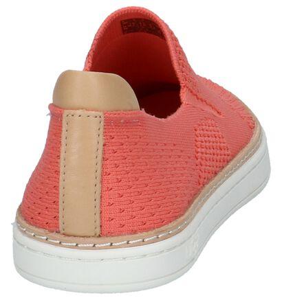 UGG Chaussures slip-on en Rose saumon en cuir (210293)