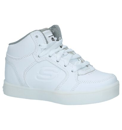 Skechers Baskets basses en Blanc en cuir (222877)