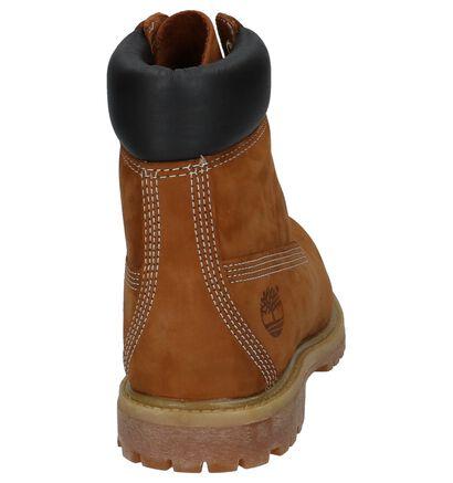 Timberland 6 Inch Premium Zwarte Boots in nubuck (255301)