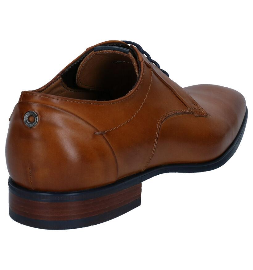Giorgio Chaussures habillées en Cognac en cuir (274870)