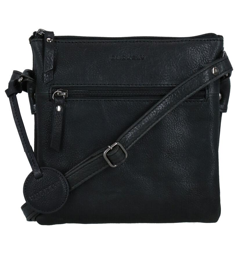 Burkely Ranger Sac porté croisé en Noir en cuir (276269)