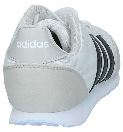 adidas V Racer 2.0 Ecru Sneakers, Beige, pdp