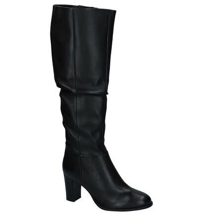 Zwarte Lange Geklede Laarzen SPM in leer (226840)