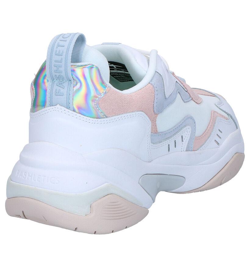 Tamaris Fashletics Sneakers en Blanc en simili cuir (269731)