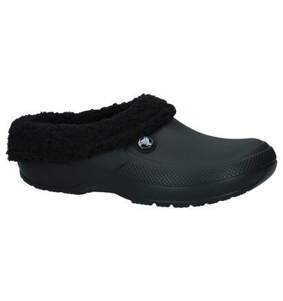 Crocs Nu-pieds plates  (Bleu foncé), Noir, pdp