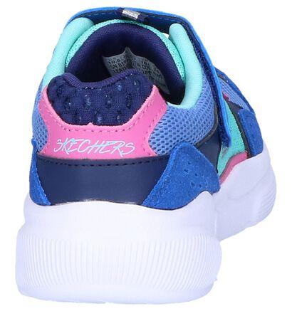 Blauwe Sneakers Skechers Meridian in daim (250668)