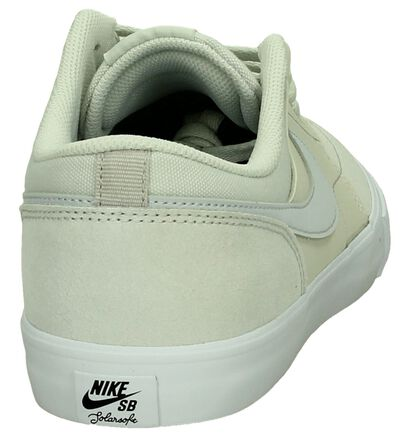 Ecru Skateschoen Nike SB Portmore in imitatieleer (198306)