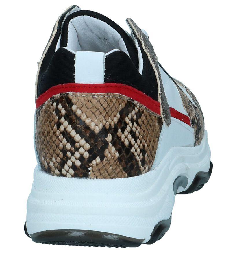 Hampton Bays Baskets basses en Blanc en cuir (263833)