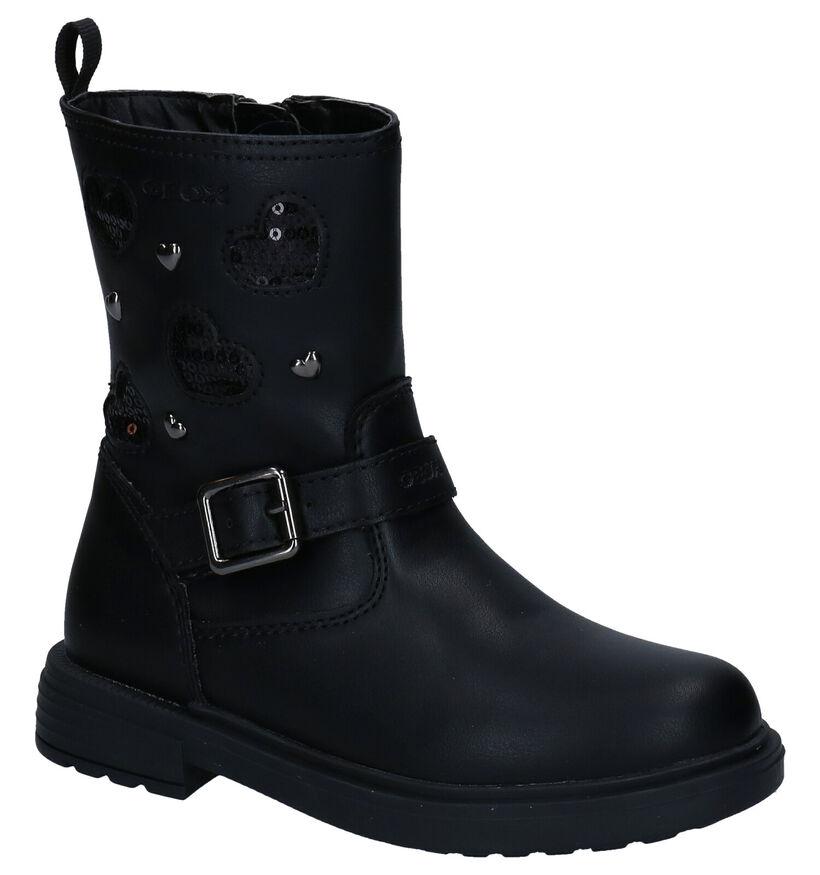 Geox Zwarte Laarzen in kunstleer (278274)