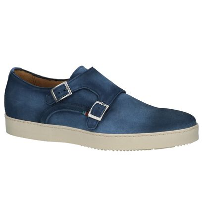 Casual Instappers Giorgio Donkerblauw, Blauw, pdp