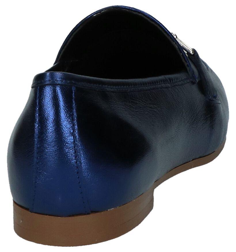 Blauwe Geklede Loafers Youh! in leer (217830)