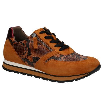 Gabor Comfort Chaussures basses en Jaune en daim (260099)