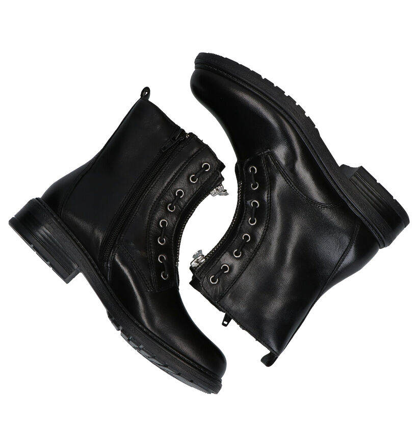 Lolo Laly Zwarte Boots in leer (278479)
