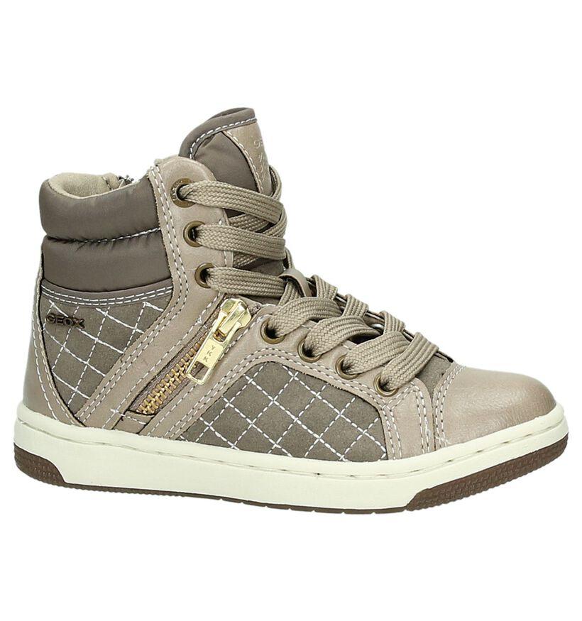 Grijze Hoge Sneakers Geox in kunstleer (163695)