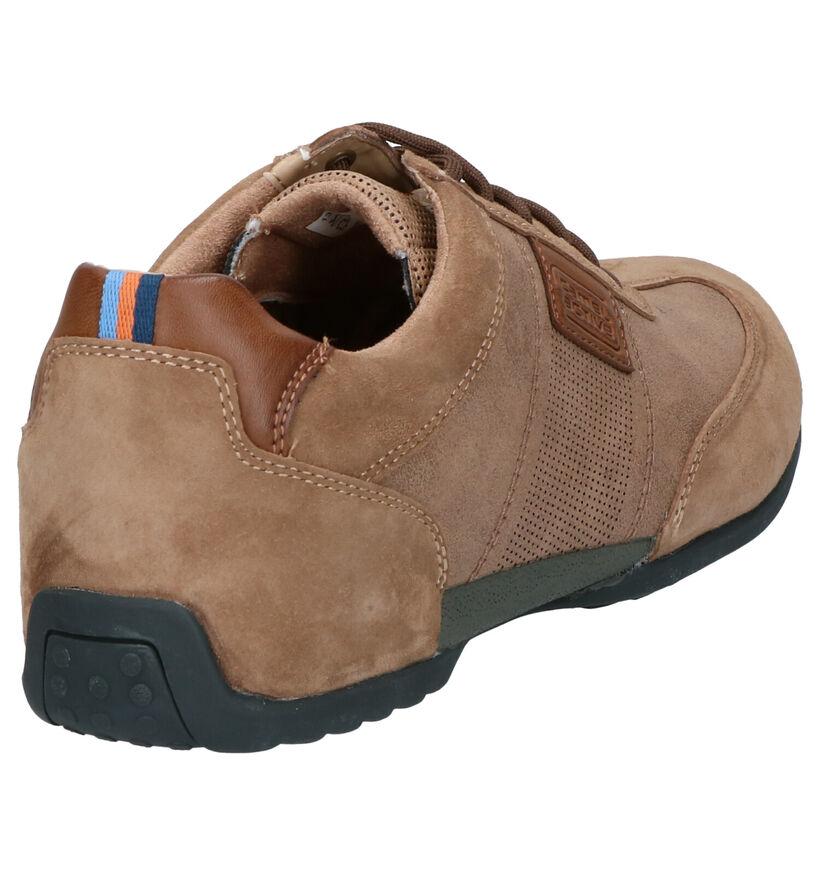 Camel Active Chaussures basses en Cognac en nubuck (271302)