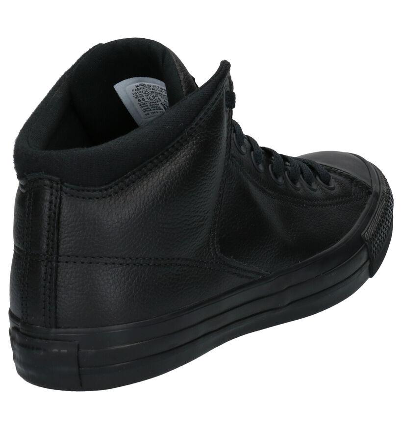 Converse AS High Street Grijze Sneakers in leer (252765)