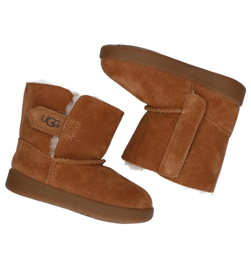 UGG Keelan Cognac Boots in nubuck (278795)