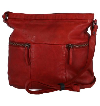 Rode Crossbody Tas Bear Design, Rood, pdp