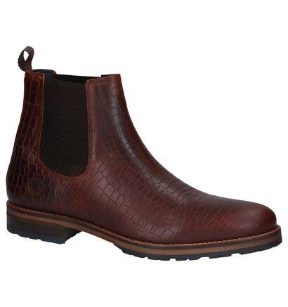 Bullboxer Chaussures hautes en Marron en cuir (260598)
