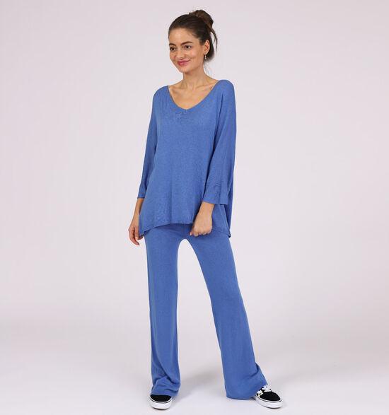 Dolce C. Blauwe Loungewear Set