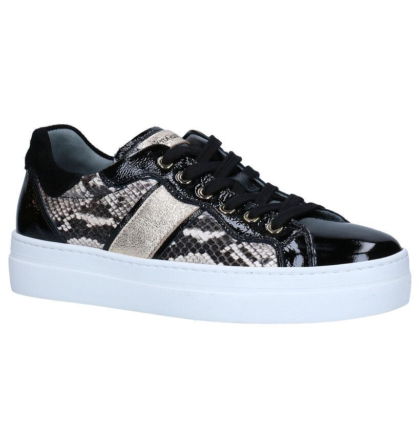 NeroGiardini Zwarte Sneakers in lak (278986)
