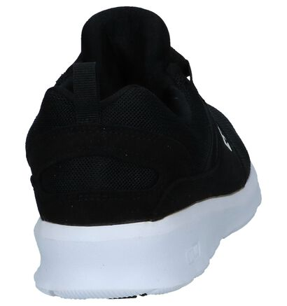 Zwarte Sneakers DC Shoes Heathrow in stof (240982)
