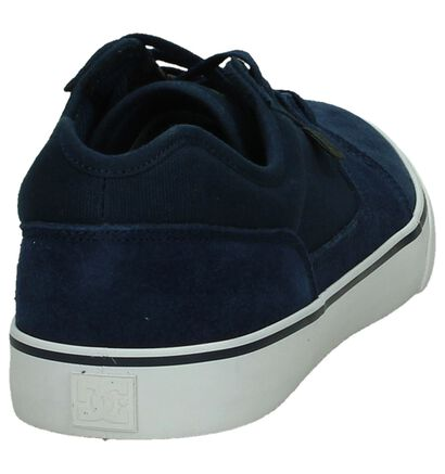 DC Shoes Tonik Zwarte Lage Skate Schoenen, Blauw, pdp