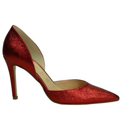 Les Autres Escarpins classique en Rouge en cuir (195915)