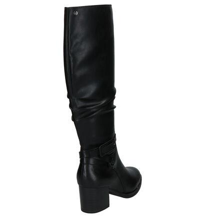 Tamaris Zwarte Laarzen in leer (275205)
