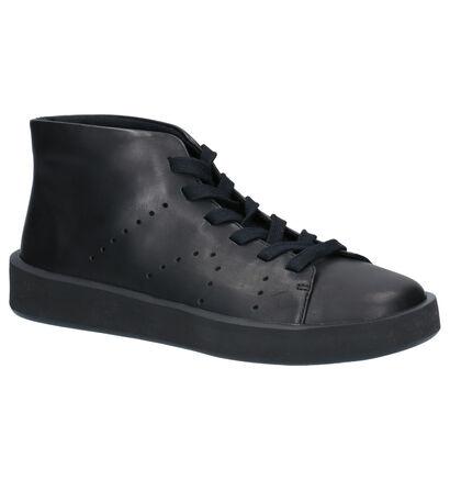 Camper Hoge Schoenen Zwart in leer (256257)