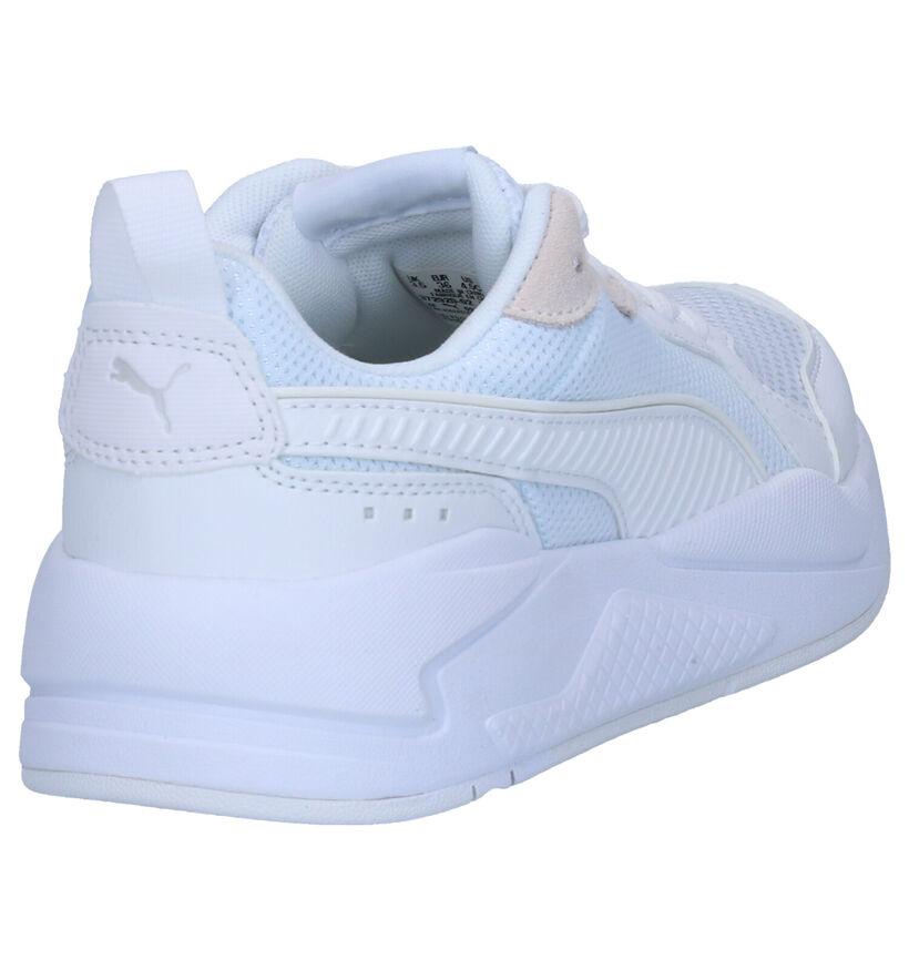 Puma Baskets basses en Blanc en textile (265601)