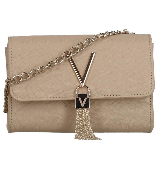 Valentino Handbags Divina Sac porté croisé en Beige