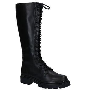 Bullboxer Zwarte Lange Laarzen in leer (281545)