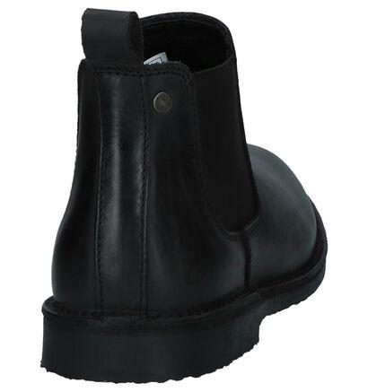 Jack & Jones Chaussures hautes en Noir en cuir (226051)