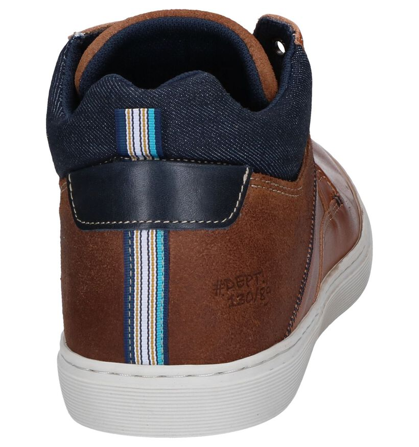 Bullboxer Chaussures hautes en Cognac en cuir (260657)