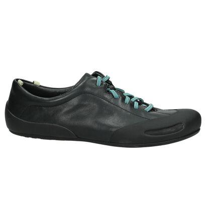 Camper Chaussures à lacets en Noir en cuir (168871)
