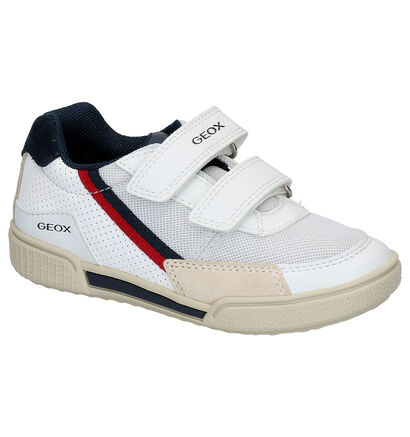 Geox Witte Lage Sneakers in leer (265800)
