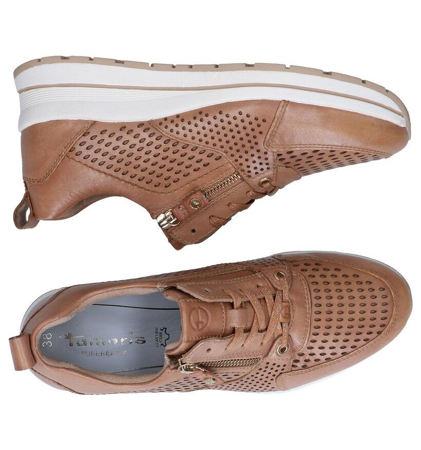 Tamaris PureRelax Witte Sneakers in leer (286311)