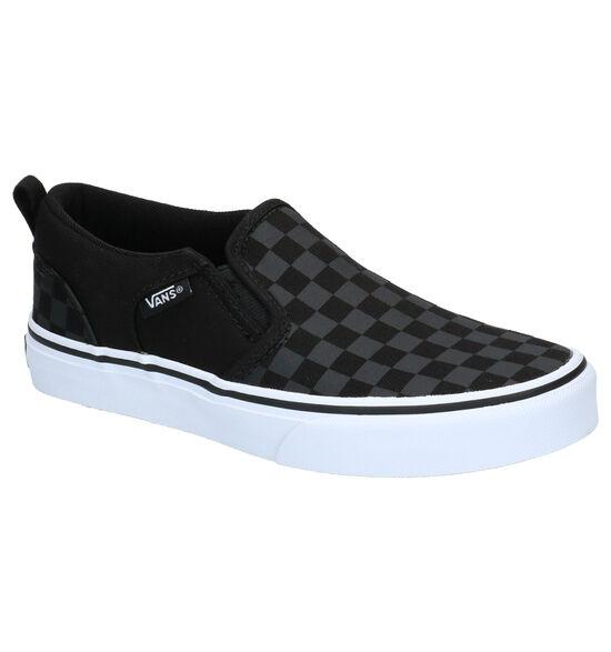Vans Asher Zwarte Skate Schoenen