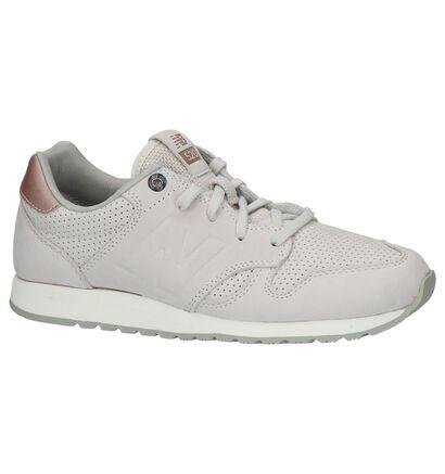 Beige Lage Sportieve Sneakers New Balance in nubuck (211678)