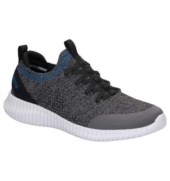 Skechers Elite Flex Karnell Baskets slip-on en Gris