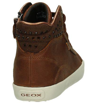 Geox Baskets hautes  (Gris foncé), Cognac, pdp