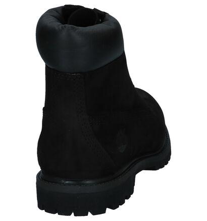 Timberland 6 Inch Premium Bottines en Noir en nubuck (255301)