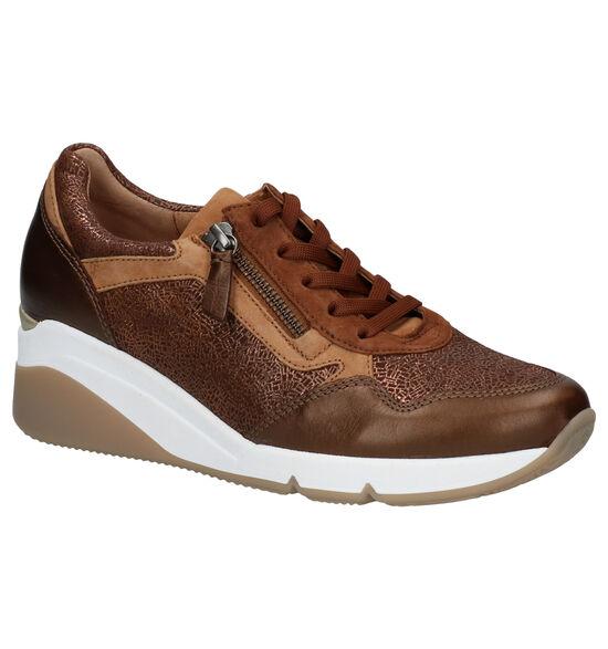 Gabor OptiFit Chaussures à Lacets en Marron
