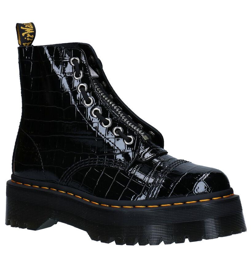 Dr. Martens Sinclair Zwarte Boots in leer (277075)