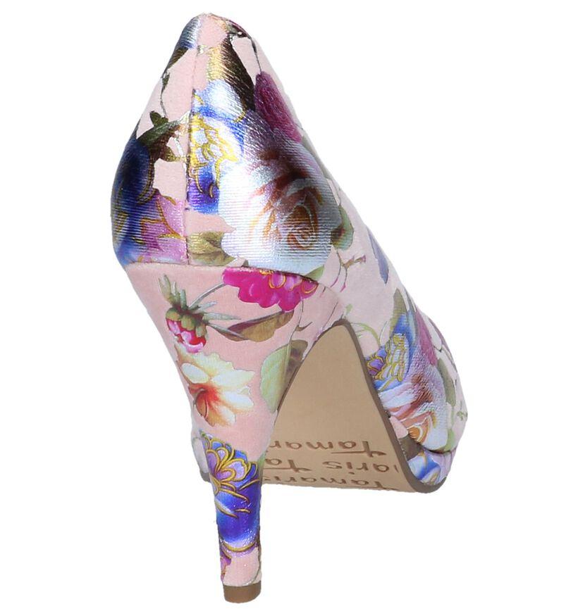 Tamaris Escarpins classique en Rose en velours (237700)