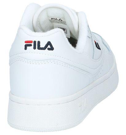 Fila Arcade Low Witte Sneakers in leer (240882)