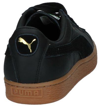 Puma Basket Classic Baskets basses en Noir en cuir (209931)