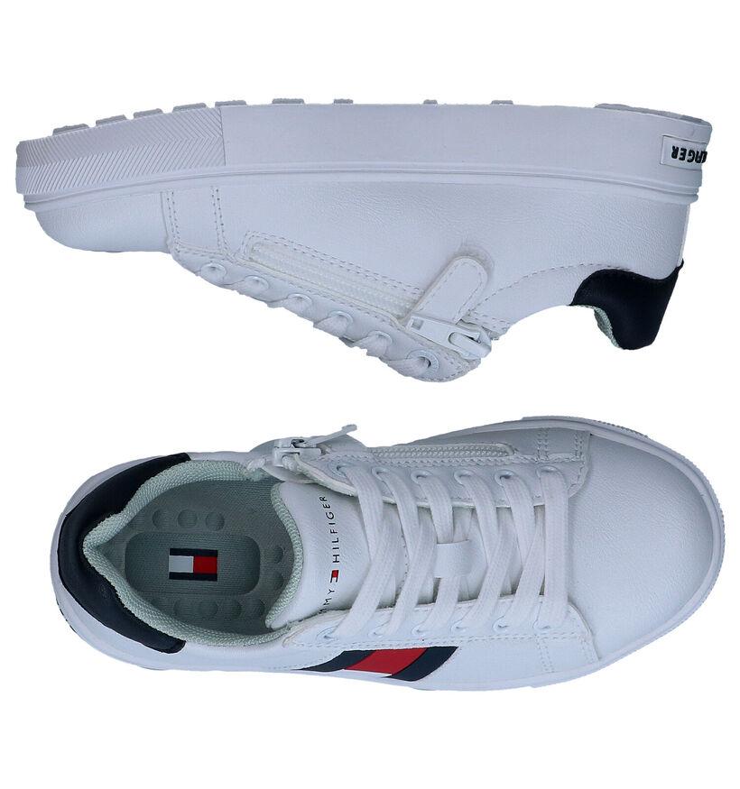 Tommy Hilfiger Baskets basses en Blanc en simili cuir (285664)